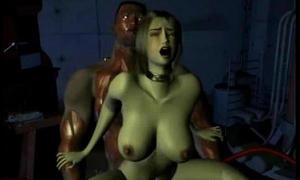 3D Arresting SciFi Sex!